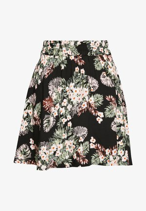 VMSIMPLY EASY SKATER SKIRT - A-line skjørt - black