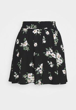 VMSIMPLY EASY SKATER SKIRT - A-lijn rok - black