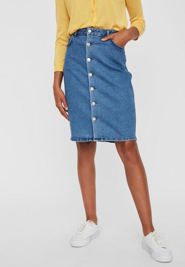 Spódnica jeansowa - light blue denim