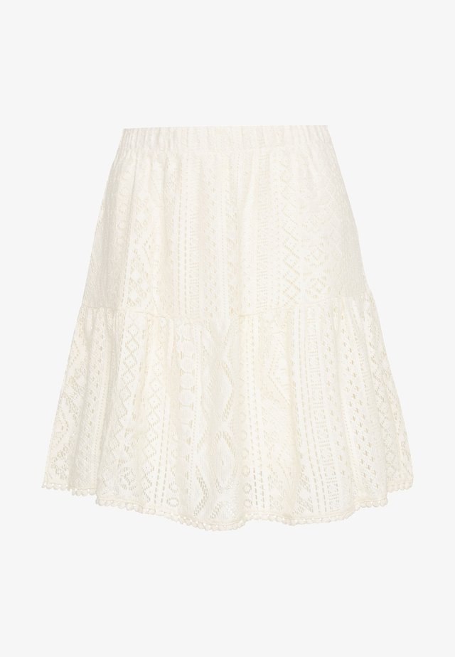 VMOLEA SHORT SKIRT - A-linjekjol - birch
