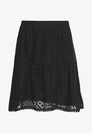 VMOLEA SHORT SKIRT - A-Linien-Rock - black