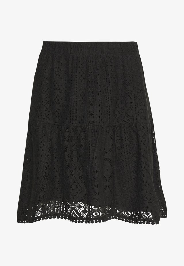 VMOLEA SHORT SKIRT - A-line skirt - black