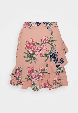 VMSAGA FRILL SKIRT  - A-line skirt - misty rose/sita
