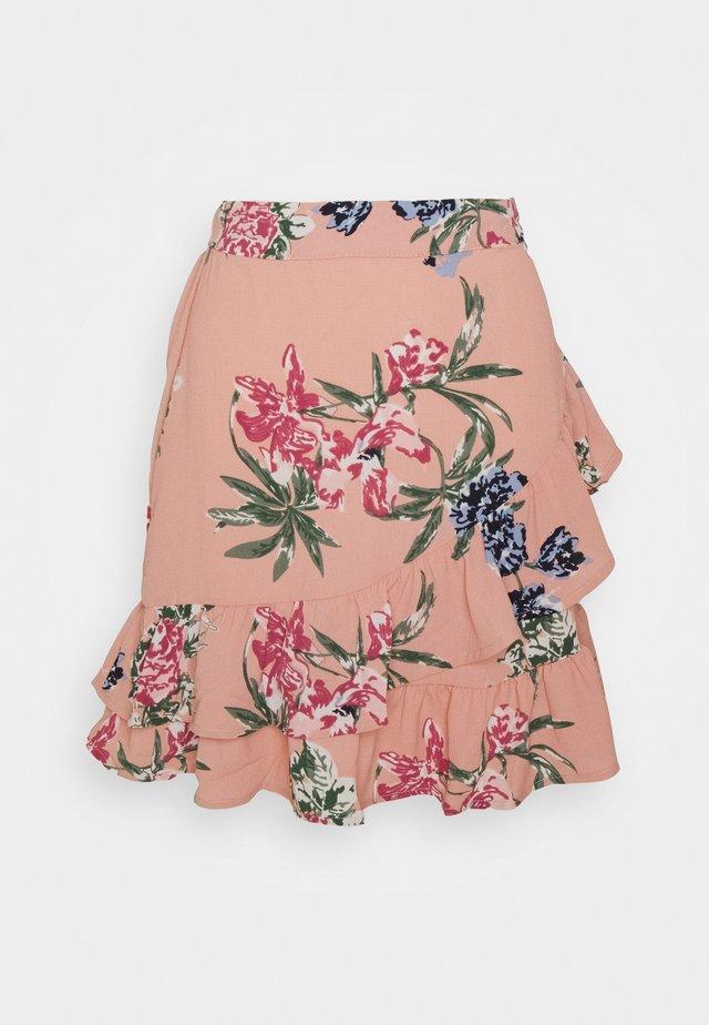 VMSAGA FRILL SKIRT  - A-snit nederdel/ A-formede nederdele - misty rose/sita