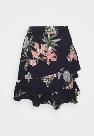VMSAGA FRILL SKIRT  - A-line skirt - navy blazer