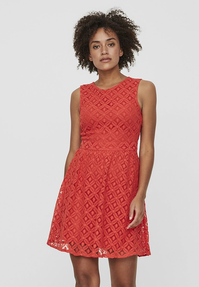 Vero Moda - VMSIMONE - Cocktailkleid/festliches Kleid - red