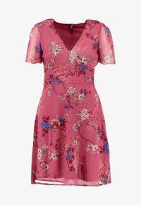 Vero Moda - VMKATINKA SHORT DRESS - Denní šaty - dry rose - 3