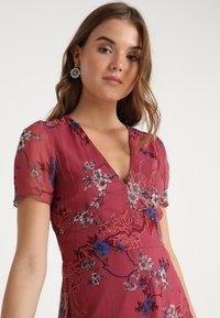 Vero Moda - VMKATINKA SHORT DRESS - Denní šaty - dry rose - 4