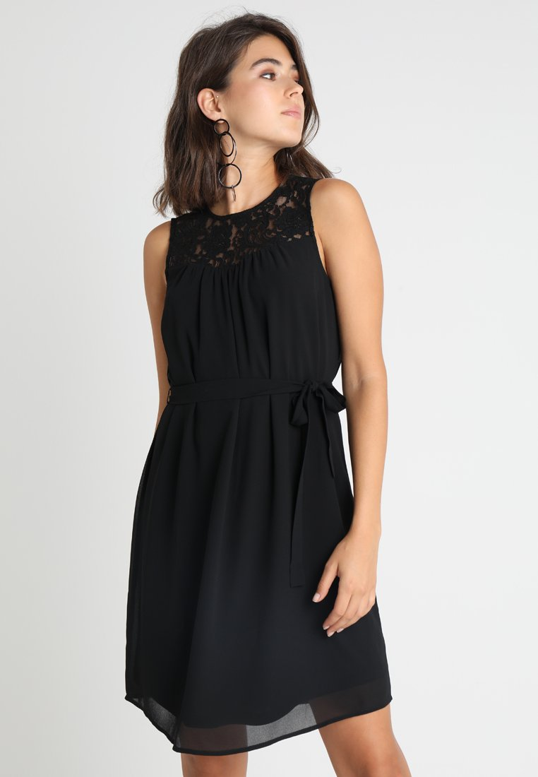 Vero Moda - VMLENE DRESS - Freizeitkleid - black