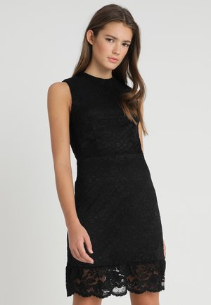 VMEMIALIA SHORT DRESS - Koktejlové šaty/ šaty na párty - black