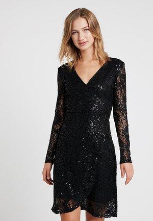 VMOLIA WRAP DRESS - Juhlamekko - black