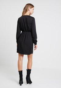 Vero Moda - VMBAYA SHORT DRESS - Shirt dress - black - 2