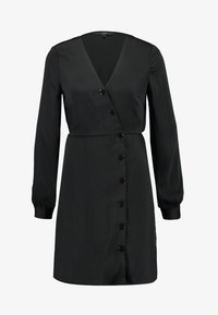 Vero Moda - VMBAYA SHORT DRESS - Shirt dress - black - 4