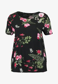 Vero Moda - VMSIMPLY EASY - Print T-shirt - black/red - 3