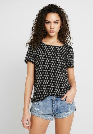 VMSIMPLY EASY - T-shirt z nadrukiem - black