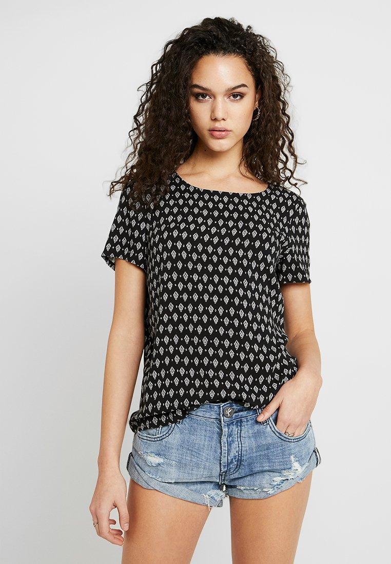 Vero Moda - VMSIMPLY EASY - Print T-shirt - black
