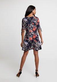 Vero Moda - VMSIMPLY BUTTON SHORT DRESS - Blusenkleid - night sky - 3