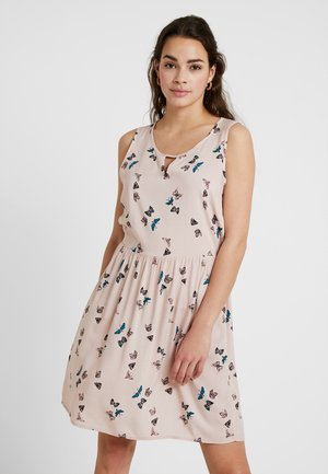 VMSIMPLY EASY SHORT DRESS - Korte jurk - sepia rose