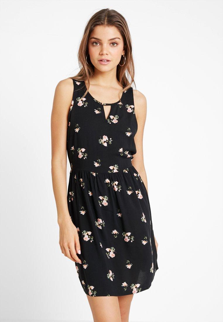 Vero Moda - VMSIMPLY EASY SHORT DRESS - Vestito estivo - black/anya