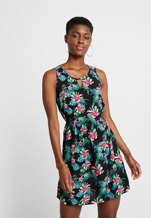 VMSIMPLY EASY SHORT DRESS - Freizeitkleid - black