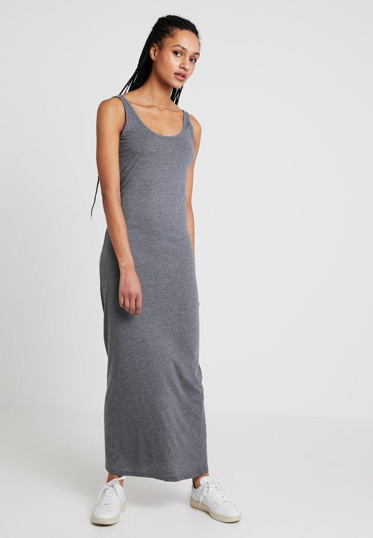 Vero Moda - VMNANNA ANCLE  - Vestito lungo - medium grey melange