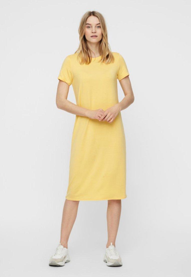 Vero Moda - Jersey dress - yellow