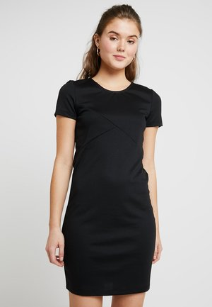 VMVIGGA SLIM SHORT DRESS - Day dress - black