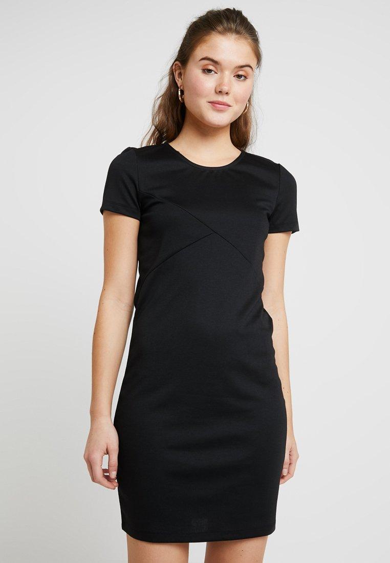 Vero Moda - VMVIGGA SLIM SHORT DRESS - Korte jurk - black