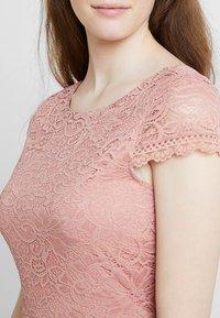 Vero Moda - VMSASSA SHORT DRESS - Cocktailkjoler / festkjoler - misty rose - 5