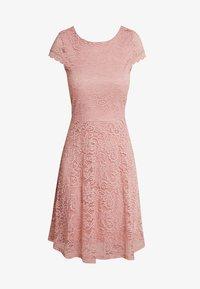 Vero Moda - VMSASSA SHORT DRESS - Cocktailkjoler / festkjoler - misty rose - 4