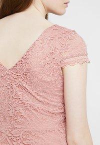 Vero Moda - VMSASSA SHORT DRESS - Cocktailkjoler / festkjoler - misty rose - 3