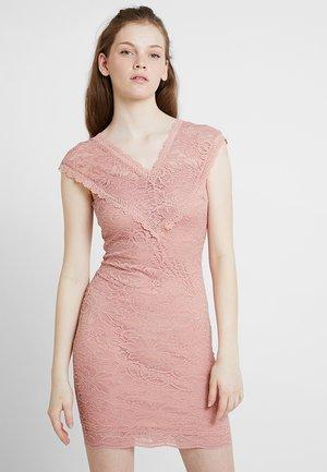 VMSASSA V-NECK SHORT DRESS - Robe de soirée - misty rose