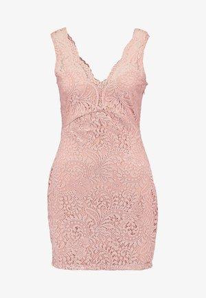 VMCELEB MINI DRESS - Koktejlové šaty/ šaty na párty - misty rose
