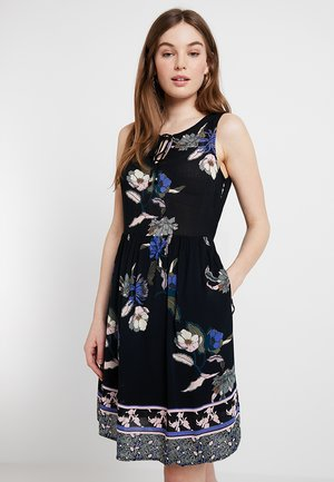 VMOLINA SHORT DRESS - Kjole - black/olina