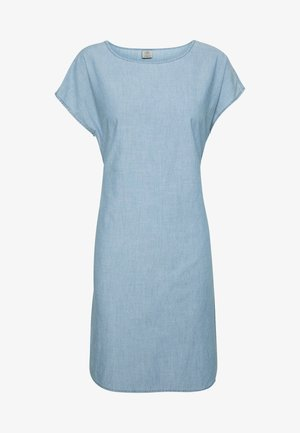 VMMILEY TIE WAIST LOOSE DRESS - Korte jurk - light blue denim