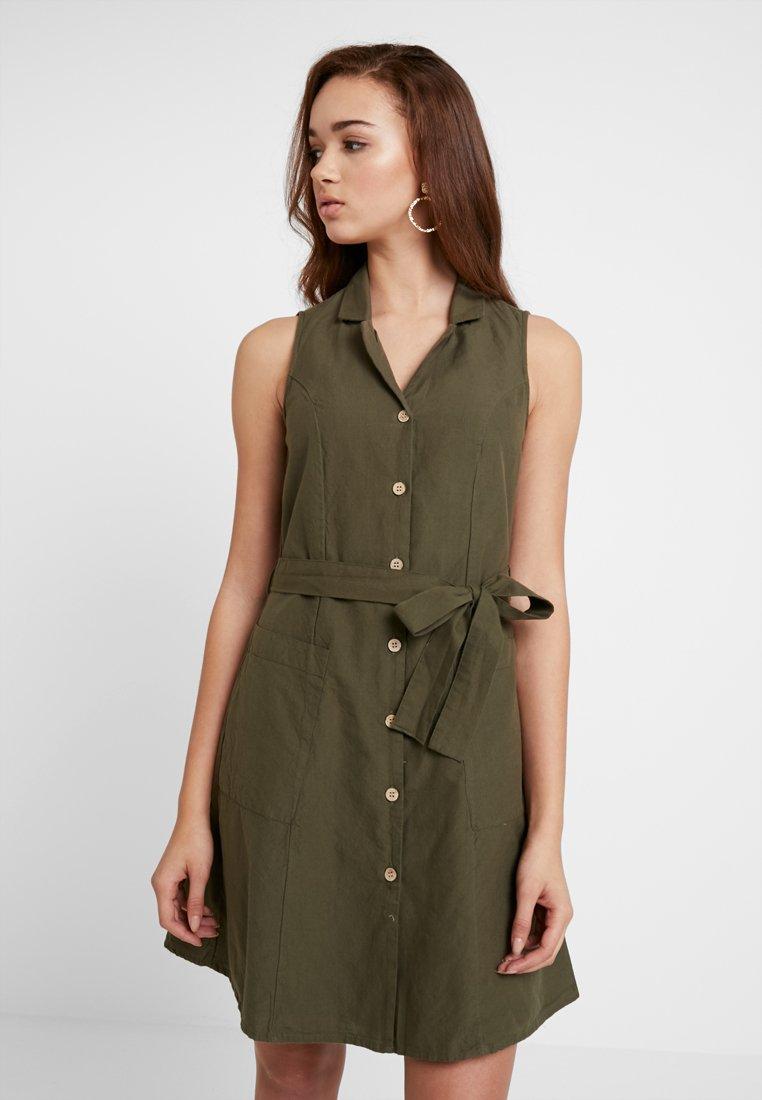 Vero Moda - VMABENA - Košilové šaty - ivy green