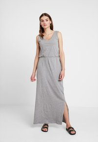 Vero Moda - REBECCA  ANKLE DRESS - Maxi-jurk - light grey - 0
