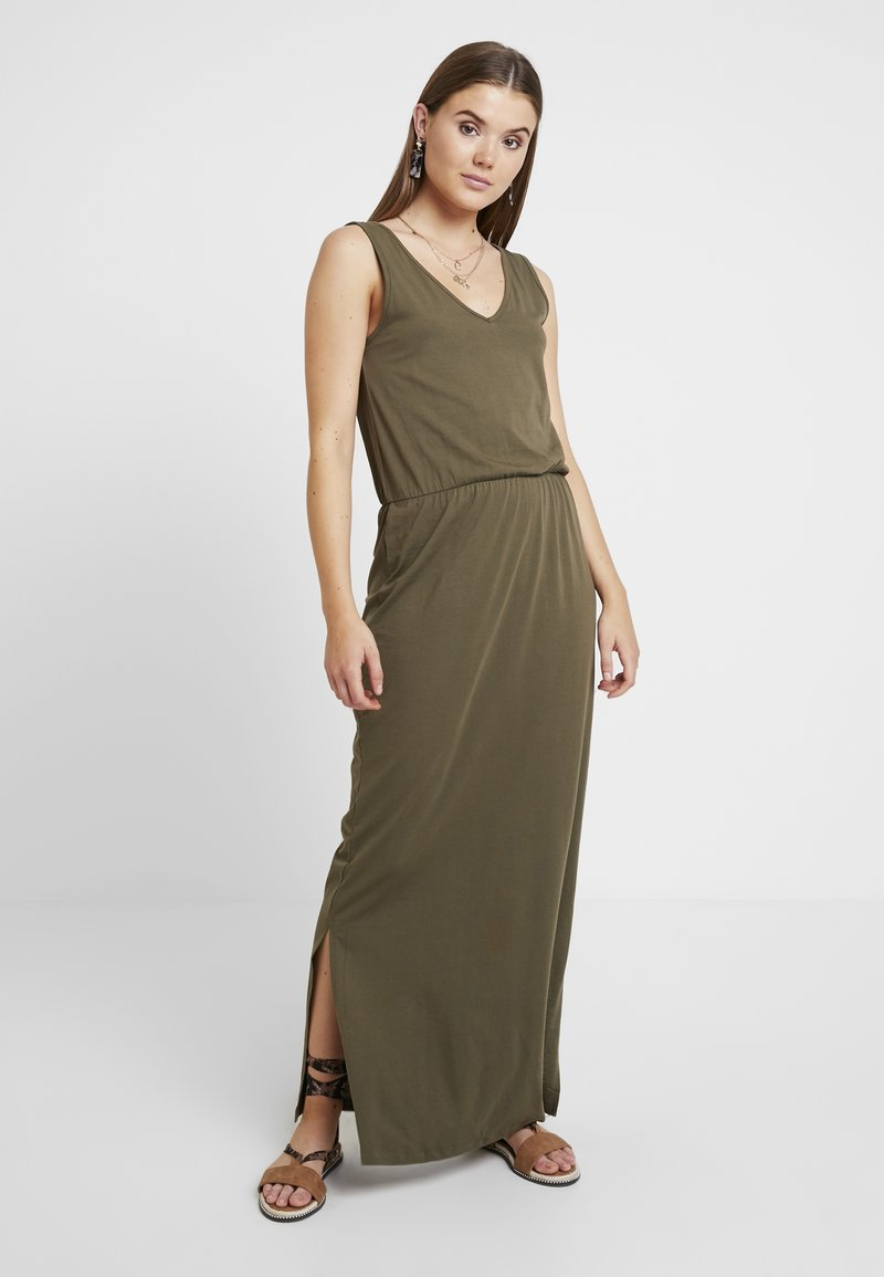 Vero Moda - REBECCA  ANKLE DRESS - Maxi dress - ivy green