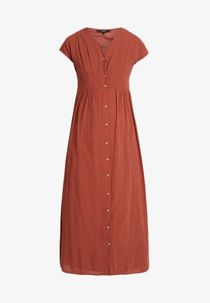 Day dress - mahogany