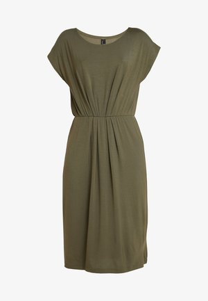 VMMARY CAPSLEEVE DRESS - Žerzejové šaty - ivy green