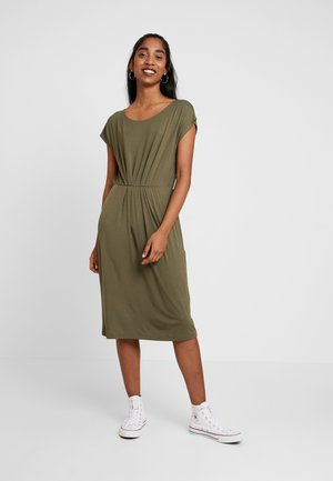 VMMARY CAPSLEEVE DRESS - Jerseykleid - ivy green