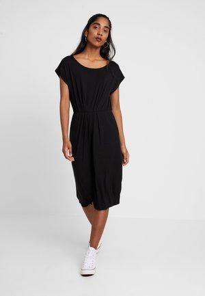 VMMARY CAPSLEEVE DRESS - Žerzejové šaty - black