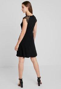 Vero Moda - VMDONIKA DRESS - Jersey dress - black - 2