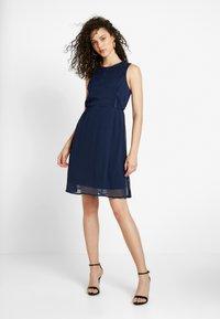 Vero Moda - VMBIRGITTA DRESS - Sukienka letnia - navy blazer - 2