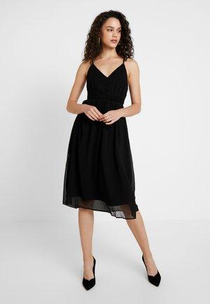 VMMARLYN SINGLET DRESS - Juhlamekko - black