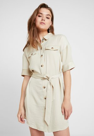 VMJANE DRESS - Skjortekjole - oyster gray