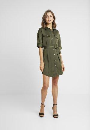 VMJANE DRESS - Abito a camicia - ivy green