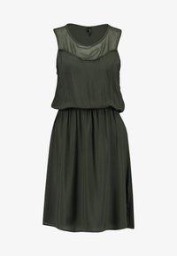 Vero Moda - VMDEPO YOKE DRESS - Robe d'été - peat - 4