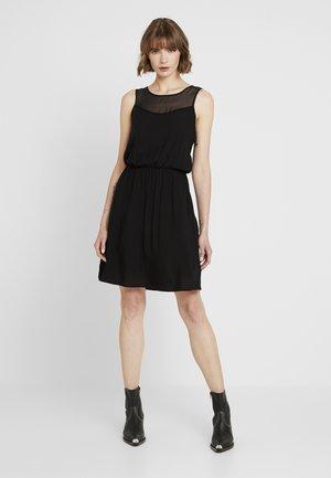 VMDEPO YOKE DRESS - Freizeitkleid - black
