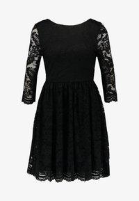 Vero Moda - VMALVIA SHORT DRESS - Vestito elegante - black - 3